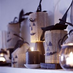Black-and-White Halloween Projects
