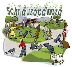 [Schnauzapalooza. Me thinks we are going to this... Putting on calendar NOW. ;-) tg]