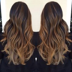 Ombré and highlights by talented Hawaii hair stylist, Pash. i want this but with red and strawberry blonde (: