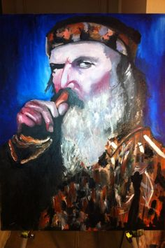 Great painting of Phil Robertson