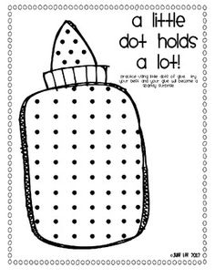 teaching just right glue...such a good idea for kindergarten at the beginning of the year! Do a shape print out with dots all the way around each shape... Great idea to use with a little tune I learned from a great teacher while working Summer School...Baby dot Baby dot not a lot. Spanish version Gotita gotita muy poquita