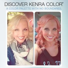 We love how Taylor Rhodes from Avanti Salon in Gig Harbor, WA created this lovely shade using Kenra Color! Her formula was 1 3/4oz 10V + 1/4oz 6RR.