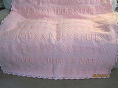 Celebrate Hope Crochet Pattern for Breast Cancer by milnertm
