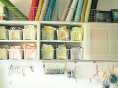 sewing rooms organization ideas - Google Search