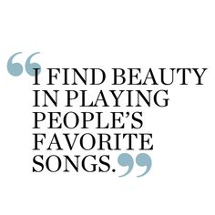 Music is a beautiful thing
