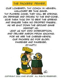 The Packers Prayer