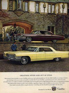 1965 Cadillac Ad