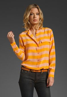 Colorful bright striped http://rstyle.me/gdirjkbu6e with denim
