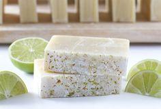 DIY Handmade Coconut Lime Soap Recipe