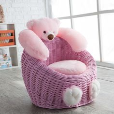 Have to have it. Willow Bear Chair - Pink $99.98