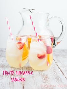 Fruity Pineapple Sangria