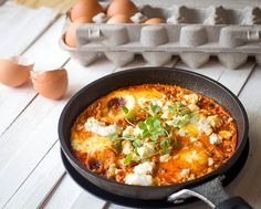 Baked Eggs for Weight Loss - omg, DELISH!!!