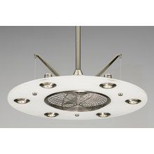 View the Fanimation FP4820PW Cumulos Ceiling Fan - Blades and Lights Included at Fanimation at LightingDirect.