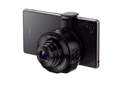 Introducing new Cyber-shot QX10 lens-style camera.  A must have, right?