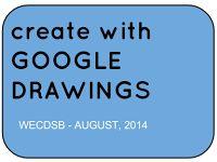 Joe Sisco - Create with Google Draw - and more