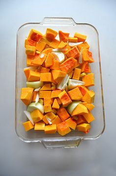 Roasted Squash Recipe with GINGER!