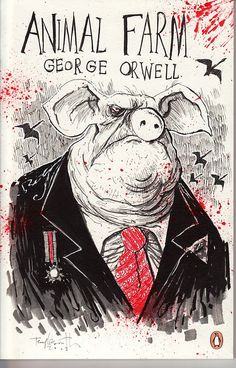 Animal Farm - art by Ralph Steadman