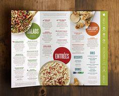 Applebee's new menu. Food probably still sucks, but the menu is a huge improvement