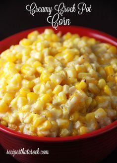 Creamy Crock Pot Corn