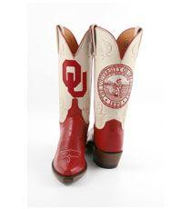 OU Boots.