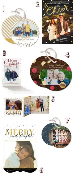 Holiday Card designs from Tinyprints.com! #TinyPrintsCheer