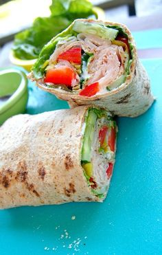 This blog has so many healthy lunch & recipe ideas! Grocery shopping ideas too