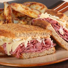 A good hearty reuben sandwich will hit the spot!. Reuben Sandwich Recipe from Grandmothers Kitchen.