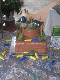 Duck Hunting Cake Ideas | Duck Hunter Grooms cake — Fishing / Hunting