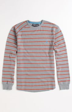 Volcom Kwort Stripe Thermal Shirt