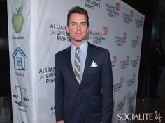 Matt Bomer Keeps It Suited & Sexy At The Alliance For Children's Rights Dinner