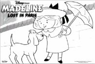 madeline coloring pages