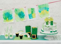 St. Patrick's Day party crafts and activities for kids on kixcereal.com