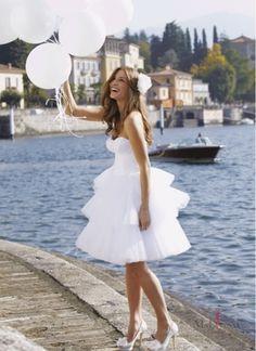 Preppy wedding dress