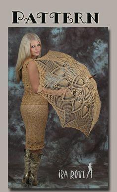 Charming Crochet Parasol