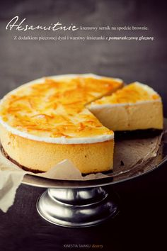 Pumpkin Cheesecake -- This looks so good.  Perfect for our Dessert Buffet.