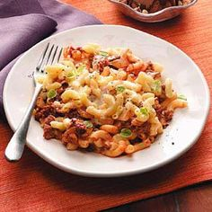 Pastitsio Recipe from Taste of Home