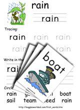 Vowel Digraphs Phonics Worksheets