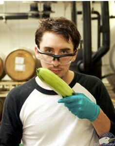 I find this photo hot, and disturbing all at once, Cucumber Beer! I have so many questions