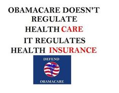 Regulates Insurance! Stop the lies, GOP!
