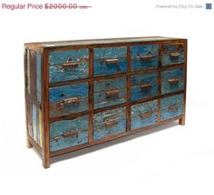 Etsy Featured Seller Sale File Cabinet by EcologicaMalibu on Etsy, $1600.00