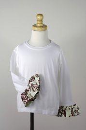 Tutorial: Add ruffles to little girl t-shirt sleeves