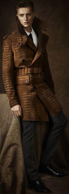 Burberry coat is the bomb!