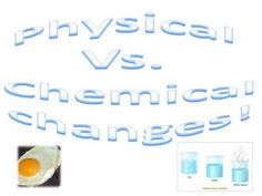 Exploratory lab to understand physical and chemical properties of matter. ...