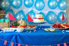 Sailboat Baby Shower!