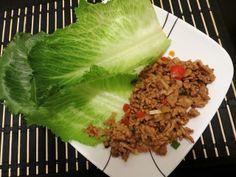 Turkey Lettuce Wraps.