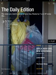 Ebola spreads, gay marriage punt and human castles. Check out today's Daily Edition: flip.it/dailyedition