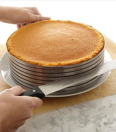 Slice perfect cake layers every single time! http://rstyle.me/n/brbiqnyg6