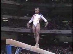 Dominique Dawes - 1996 Olympics AA - Balance Beam