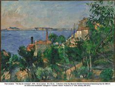 "Paul Cézanne - ""The Sea at L'Estaque"", 1876"