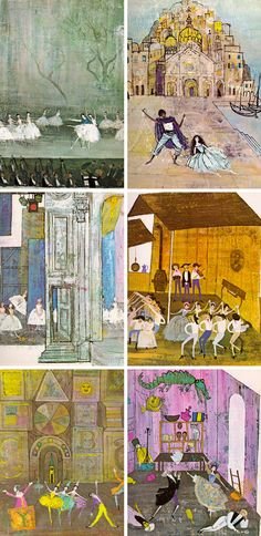 Tales from the Ballet adapted by Louis Untermeyer, illustrated by Alice and Martin Provensen.
